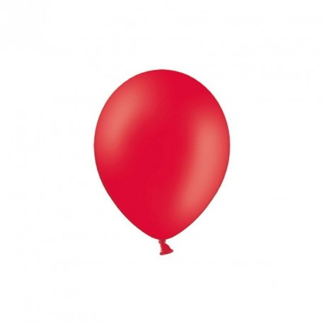 100 petits Ballons rouge 12 cm