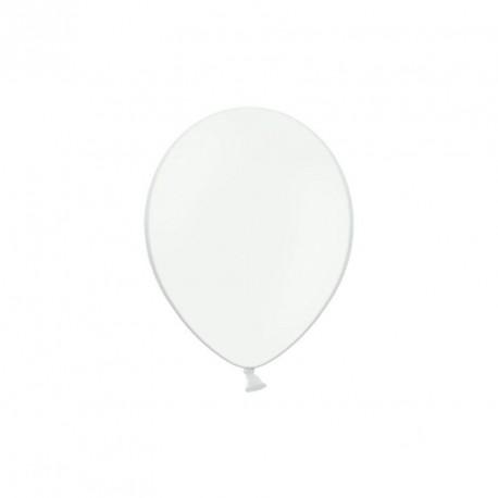 100 petits Ballons blanc 12 cm