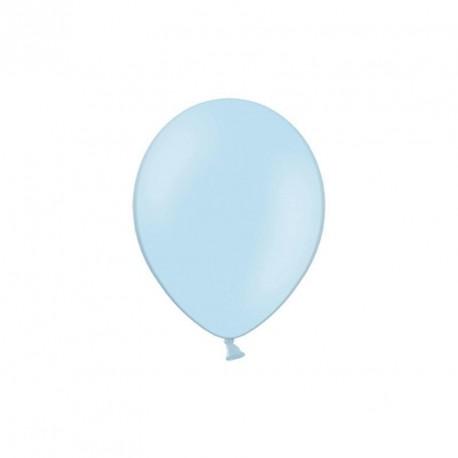 100 petits ballons bleu ciel 12 cm