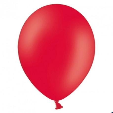 100 Ballons de baudruche rouge 27 cm