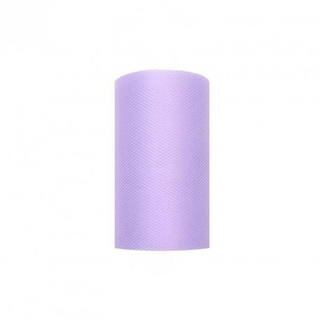 Tulle voiture mariage lilas