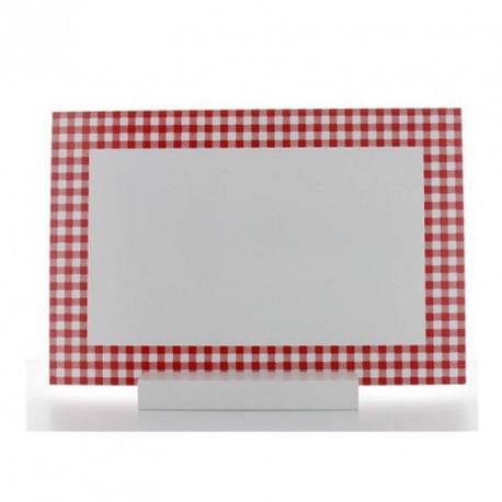 Centre de table menu Vichy