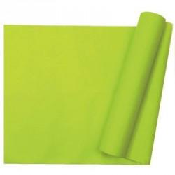 Chemin de table uni vert