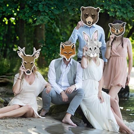 Masque Photobooth mariage et anniversaire
