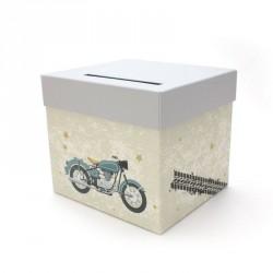 Urne thème moto vintage