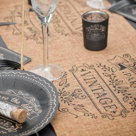 Chemin de table vintage pas cher