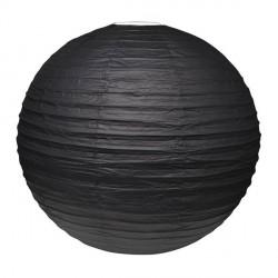 Lampion Noir géant 50 cm