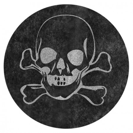 Set de table halloween noir