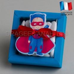 boite à dragées super héros
