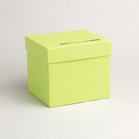 Urne de couleur vert