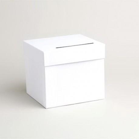 Urne de couleur blanche