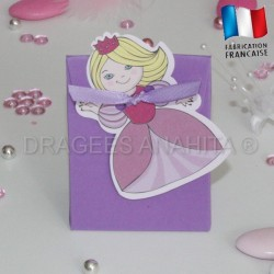 Pochon pour dragées petite princesse