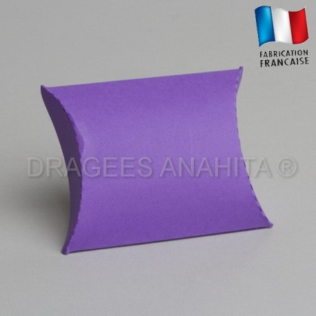 Pochette pour dragées lilas