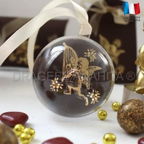 Boule à dragées ange chocolat