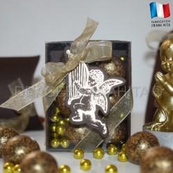 Fourreau pour dragées ange chocolat