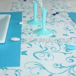 Chemin de table papillon 10m