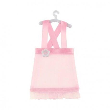 Robe à dragées rose X 5