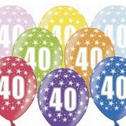 Ballon Gonflable 40 ème Anniversaire