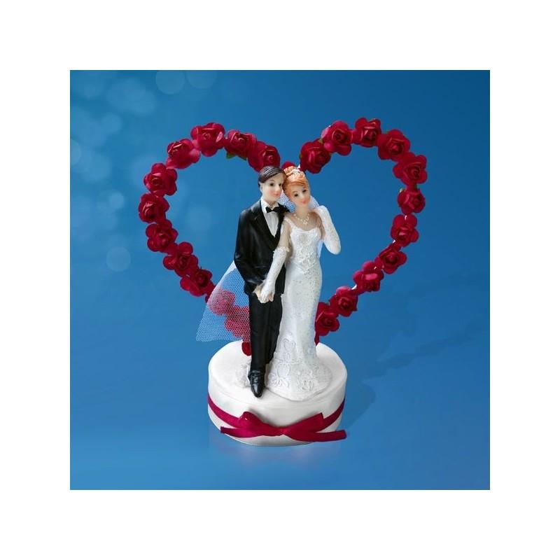 Coeur Rose et Rose Pale - Les décorations et Coups de