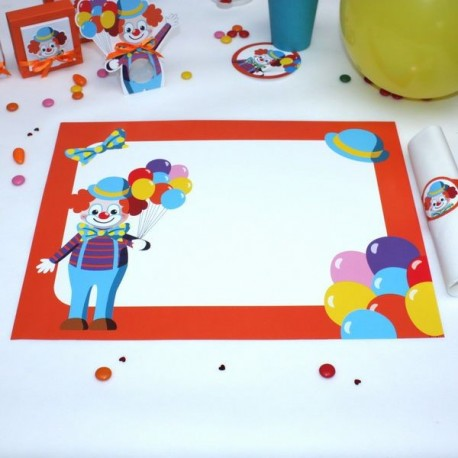 Set de table Clown