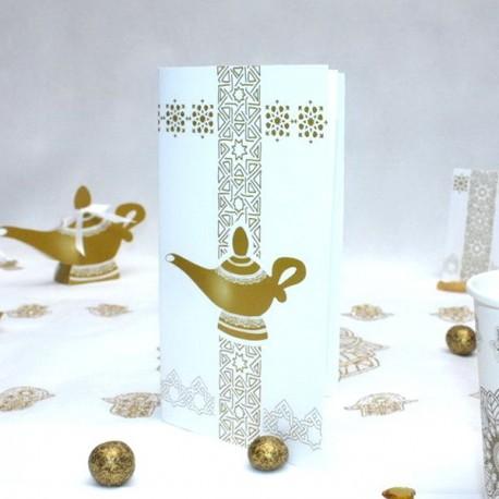 Menu Lampe Aladdin
