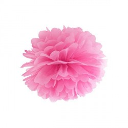 Pompon fuchsia 25 cm