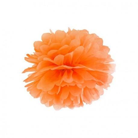 Pompon orange 25 cm