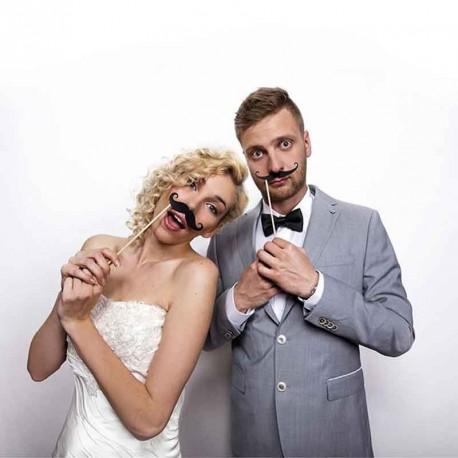 Photo shoot moustache