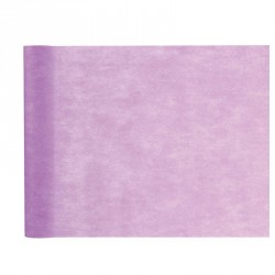 Chemin de table uni lilas