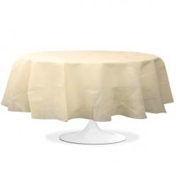 nappe ronde mariage ivoire pas cher
