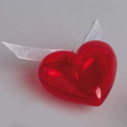 Boite dragées coeur