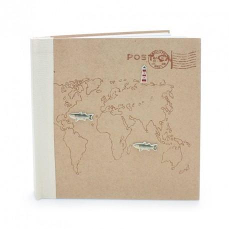 Livre d'or voyage autour de monde 44 pages