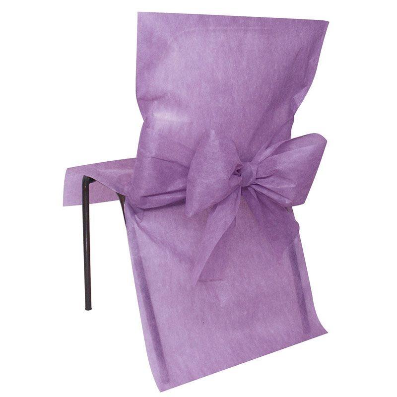 Choisissez ces housses de chaises avec noeud pour votre mariage - Acheter housse de chaise ...