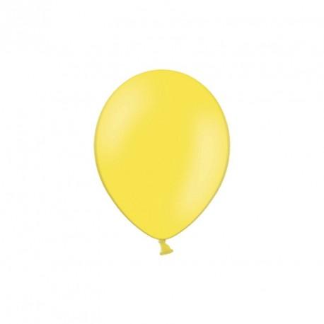 100 petits Ballons jaune 12 cm
