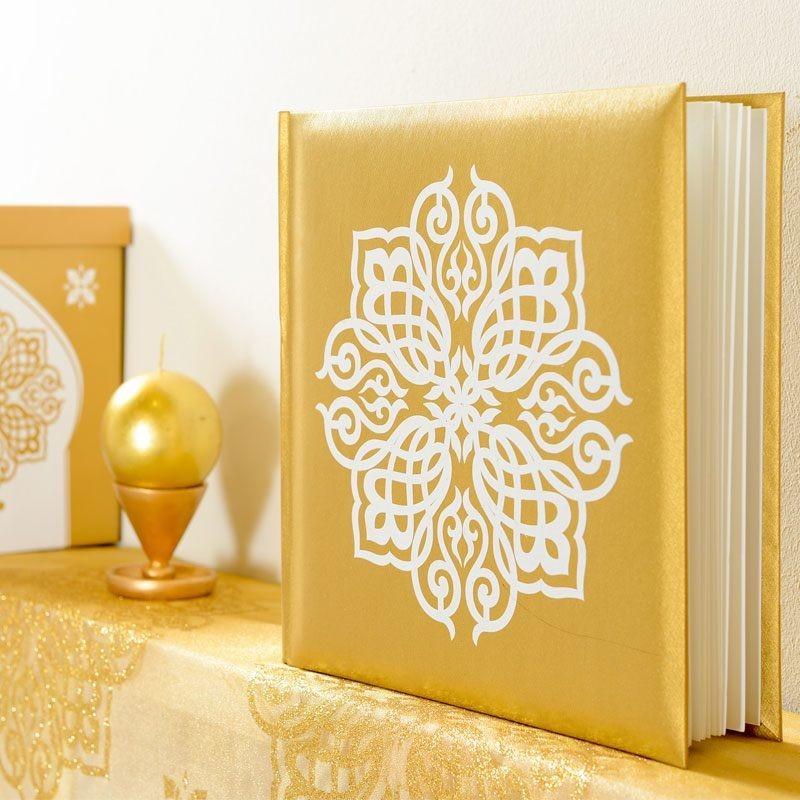 livre dor thme mariage oriental - Livre D Or Mariage Oriental