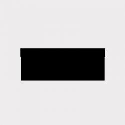 Etiquette carré transparente autocollante