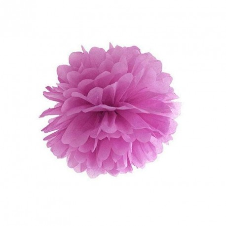 Pompon prune 25 cm