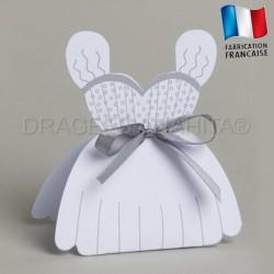 Boites à dragées robe de mariée
