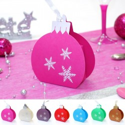 Ballotin boule de Noël à accrocher