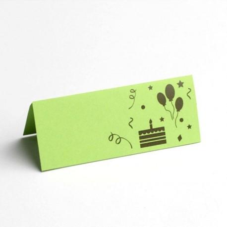 Marque place joyeux Anniversaire sélection vert