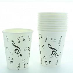 10 gobelets  musique
