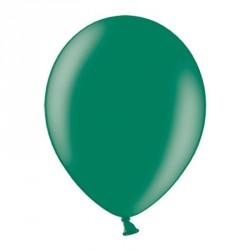 10 ballons métalisés vert