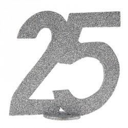 Chiffre Anniversaire 25 ans pour un anniversaire unique et tendance.