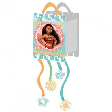 Pinata Vaiana idéale pour lancer une animation inoubliable lors d'une fête d'anniversaire.