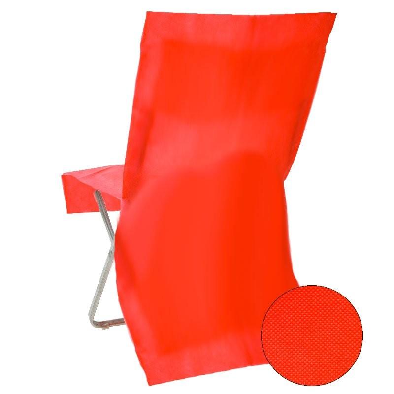 housse de chaise jetable rouge pour d coration de mariage drag es anahita. Black Bedroom Furniture Sets. Home Design Ideas
