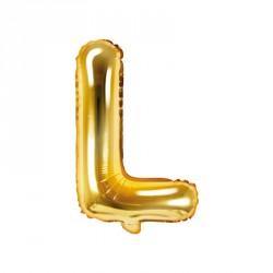 Ballon Lettre L Or 35cm
