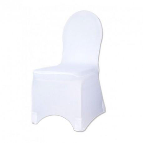 Housse de chaises de mariage en lycra drag es anahita - Housse de chaise spandex ...