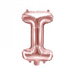 Ballon Lettre I Rose Gold 35cm