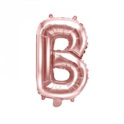 Ballon Lettre B Rose Gold 35cm
