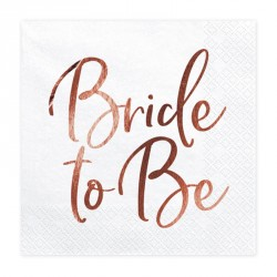 20 Serviettes Bride To Be